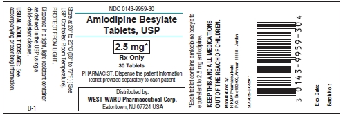 Amlodipine Besylate Tablet [West-ward Pharmaceutical Corp]