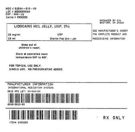 Lidocaine Hydrochloride Jelly [General Injectables & Vaccines, Inc]