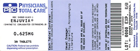 Enjuvia 0.625 mg Label