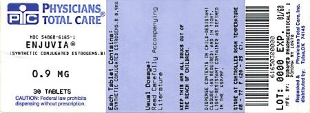 Enjuvia 0.9 mg Label