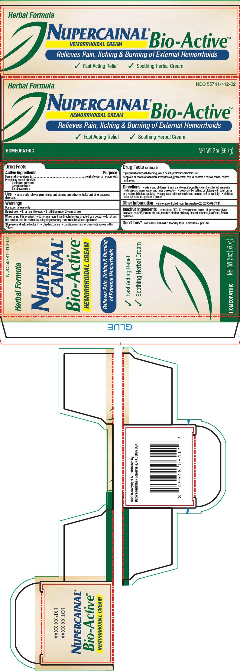 Nupercainal Bio-active Hemorrhoidal (Hamamelis Virginiana Root Bark/stem Bark, Echinacea Purpurea, Centella Asiatica, And Sambucus Nigra Flowering Top) Cream [Ducere Pharma]