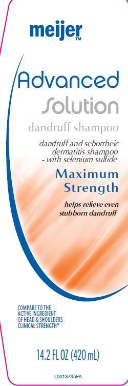 Dandruff (Selenium Sulfide) Shampoo [Meijer Distribution]