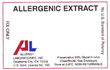PRINCIPAL DISPLAY PANEL ALLERGENIC EXTRACT RX ONLY
