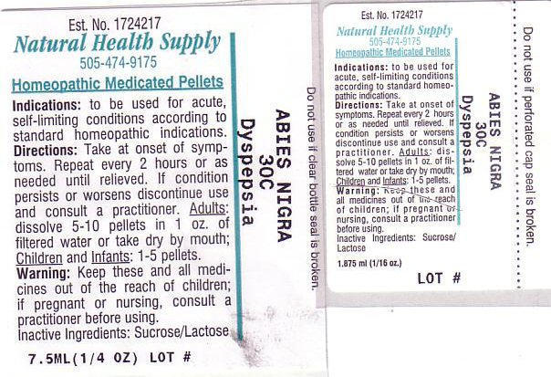 Dyspepsia 3 (Picea Mariana Resin) Pellet [Natural Health Supply]