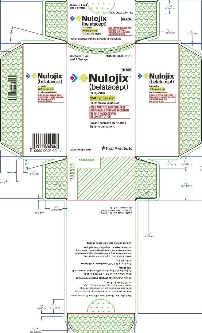 Nulojix (Belatacept) Injection, Powder, Lyophilized, For Solution [E.r. Squibb & Sons, L.l.c.]
