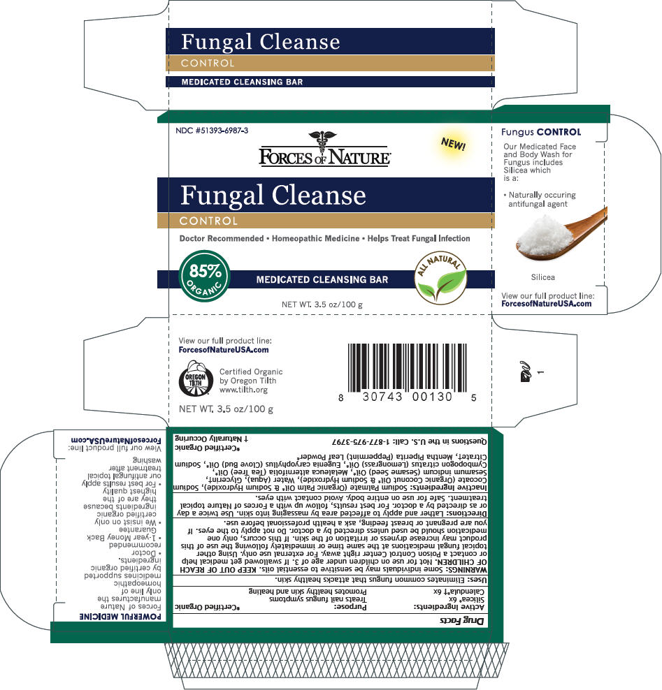 Fungal Cleanse (Calendula Officinalis Flowering Top And Silicon Dioxide) Soap [Forces Of Nature]