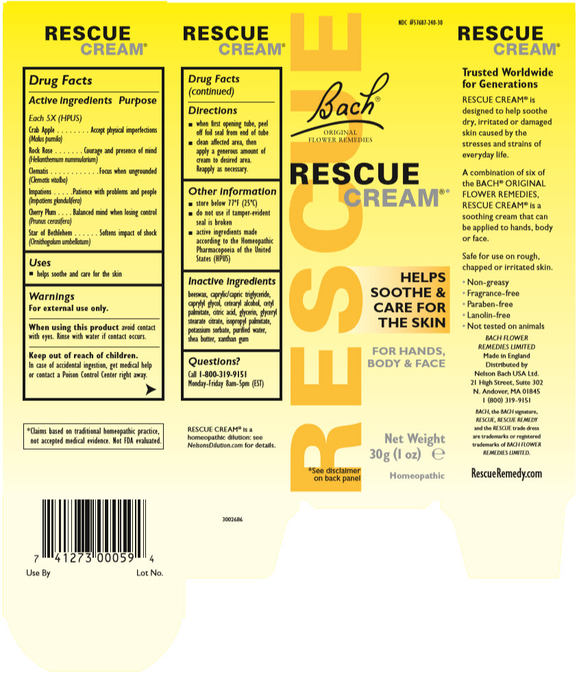Rescue (Helianthemum Nummularium Flower, Clematis Vitalba Flower, Impatiens Glandulifera Flower, Prunus Cerasifera Flower, Ornithogalum Umbellatum, And Malus Domestica Flower) Cream [Nelson Bach Usa, Ltd.]