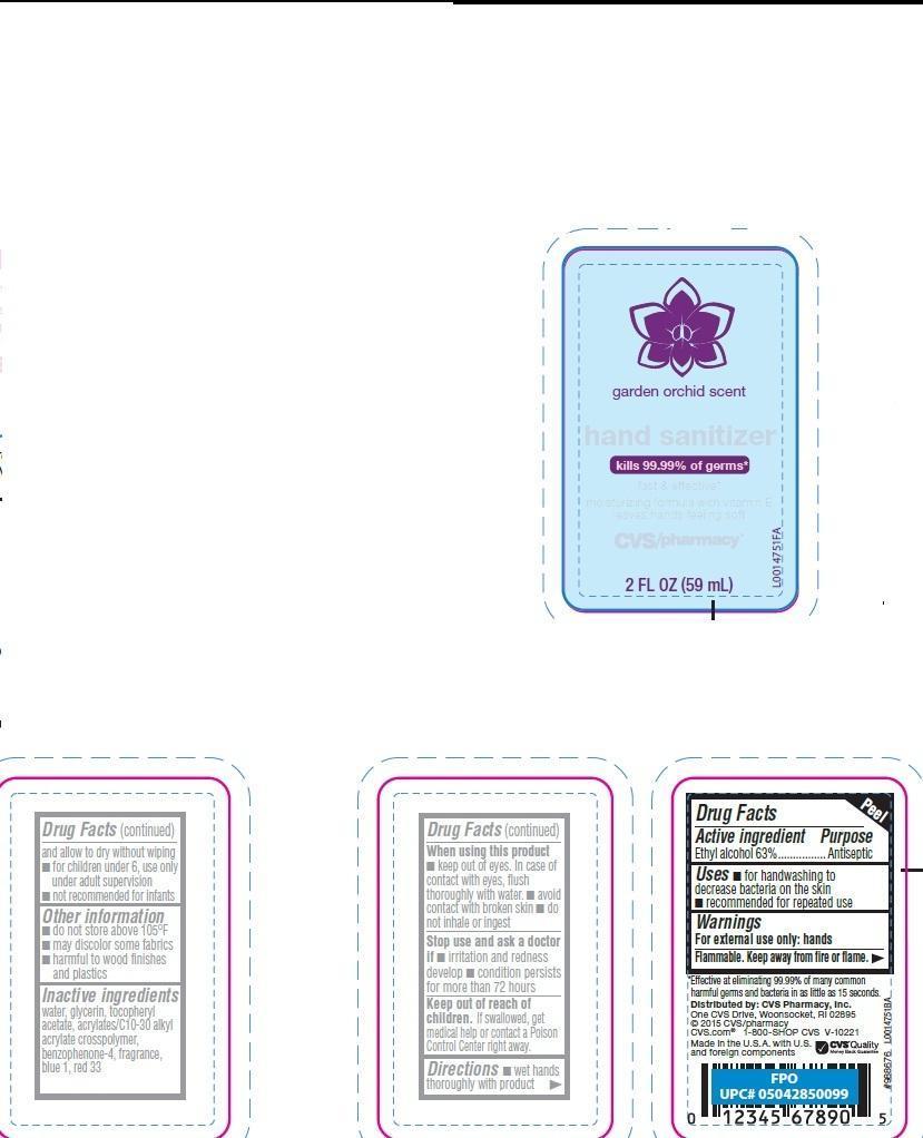 Hand Sanitizer (Alcohol) Gel [Cvs Pharmacy, Inc]
