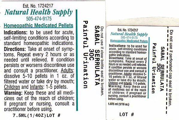Painful Urination Label