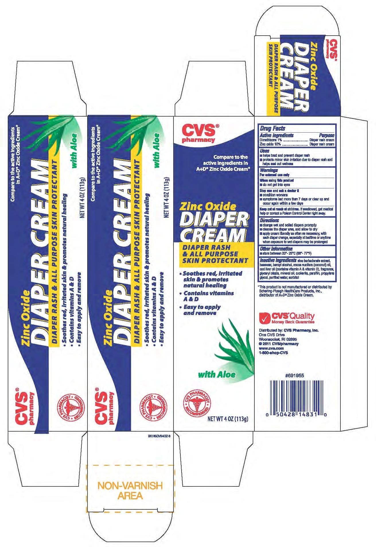 Dimethicone And Zinc Oxide Ointment [Cvs]