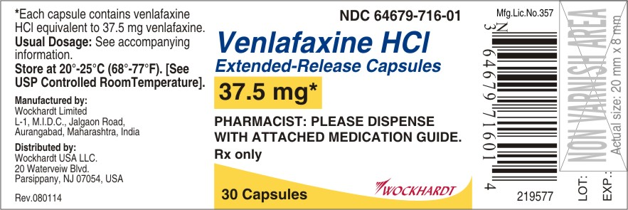 Venlafaxine Hydrochloride Capsule, Extended Release [Wockhardt Limited]