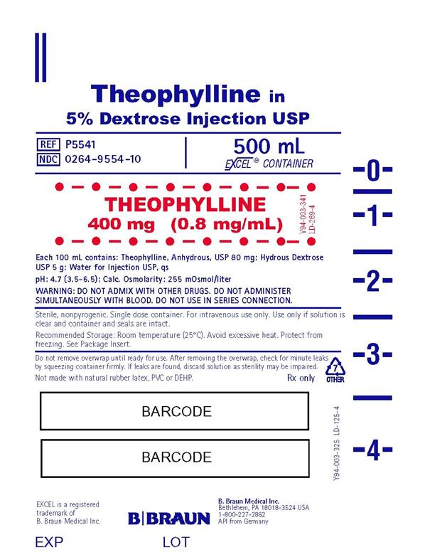 500 ml Container Label P5541