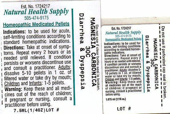 Diarrhea Dyspepsia (Magnesium Cation) Pellet [Natural Health Supply]