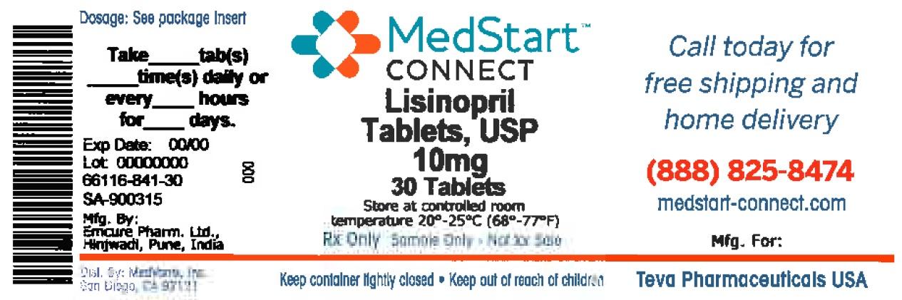 Lisinopril Tablet [Medvantx, Inc.]
