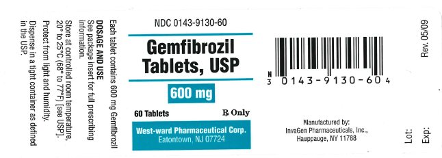Gemfibrozil Tablet, Film Coated [West-ward Pharmaceutical Corp]