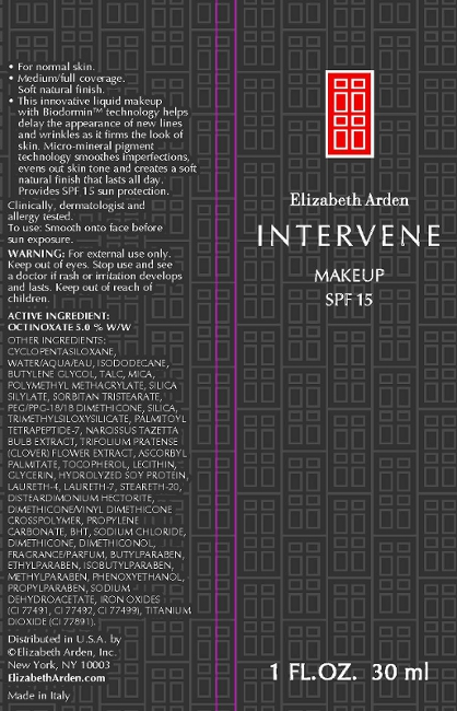 Intervene Makeup Spf 15 Soft Honey (Octinoxate) Cream [Elizabeth Arden, Inc]
