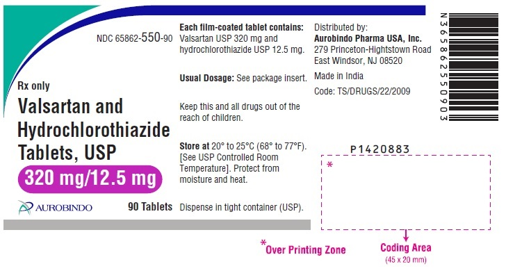 PACKAGE LABEL-PRINCIPAL DISPLAY PANEL - 320 mg/12.5 mg (90 Tablets Bottle)