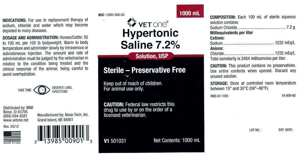 Hypertonic Saline Injection, Solution [Mwi (Vetone)]