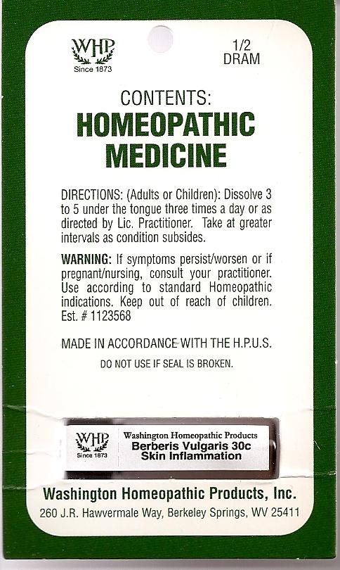 Berberis Vulgaris Kit Refill (Berberis Vulgaris Root Bark) Pellet [Washington Homeopathic Products]