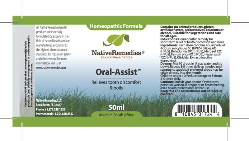 Oral Assist Tincture [Feelgood Health]