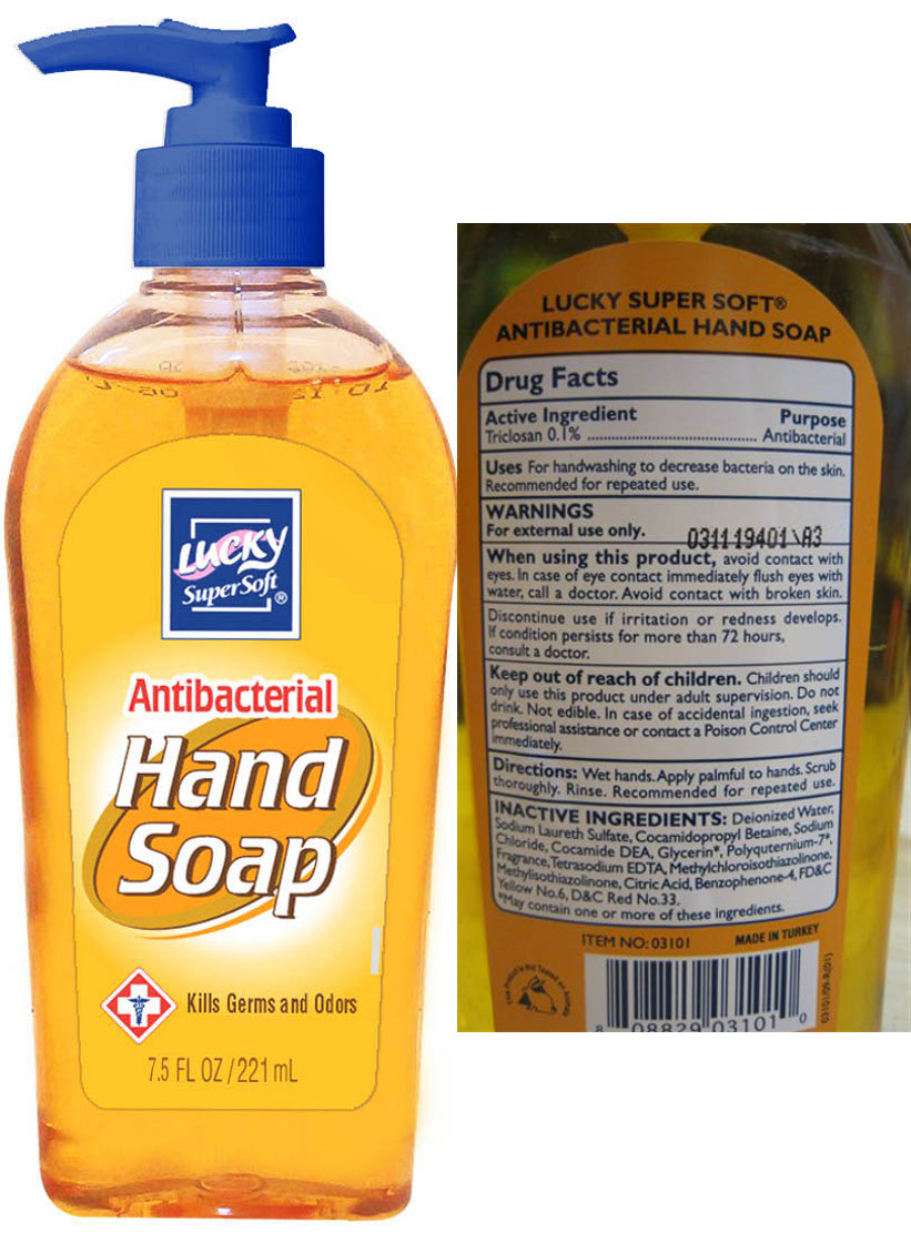 Antibacterial Hand Soap (Triclosan) Liquid [Delta Brands Inc]