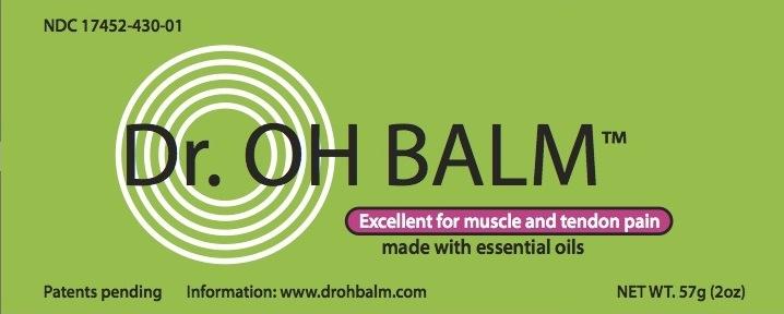 Dr. Oh Balm (Camphor, Capsaicin And Menthol) Cream [Ecometics, Inc.]