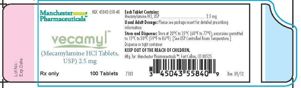 Vecamyl Container Label
