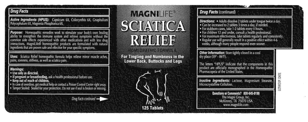 Sciatica Relief