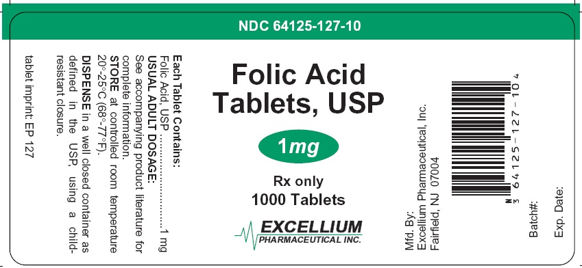 Folic Acid Tablet [Excellium Pharmaceutical Inc.]