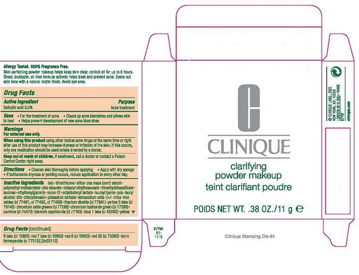 Clinique Clarifying Makeup (Salicylic Acid) Powder [Clinique Laboratories Inc]