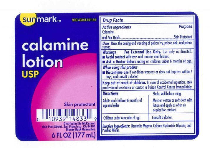 Sunmark Calamine (Calamine 8% And Zinc Oxide 8%) Lotion [Mckesson]