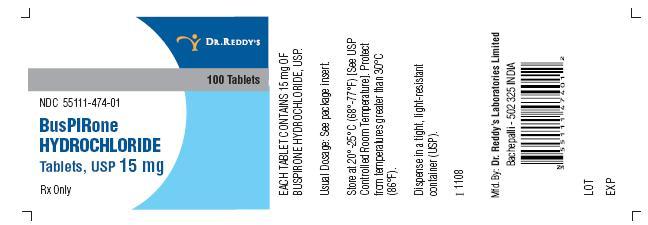 buspirone hydrochloride 15 mg as buspirone 13 7 mg oral tablet