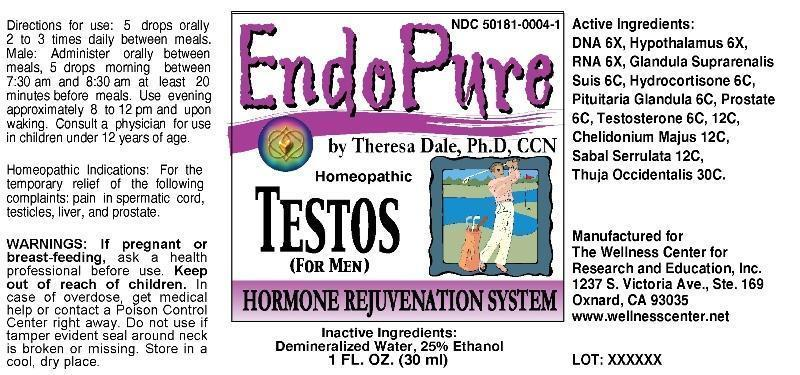 EndoPure Testos for Men