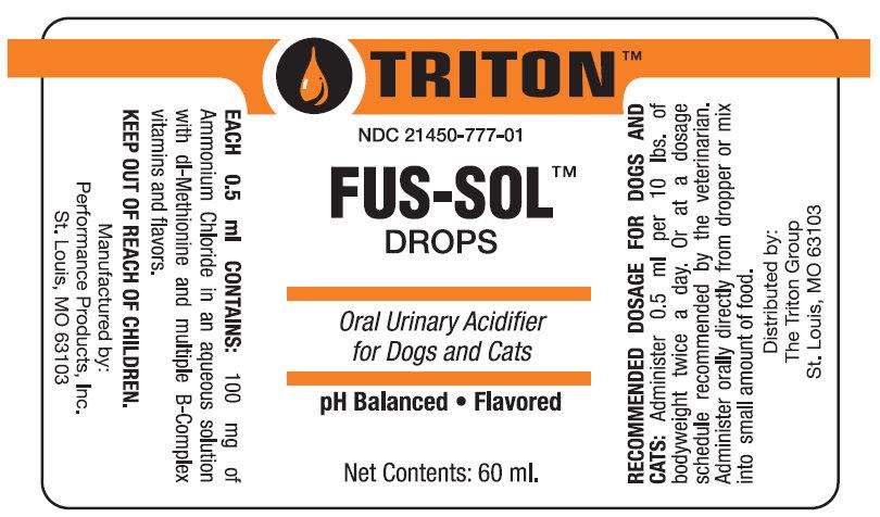 Fus-sol (Ammonium Chloride) Liquid [Performance Products, Inc.]