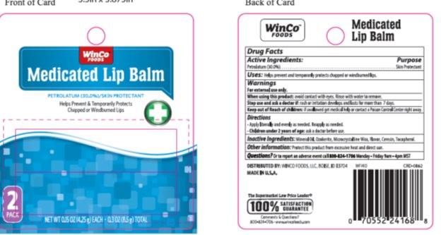 Winco Medicated Lip Balm (Petrolatum) Stick [Winco]