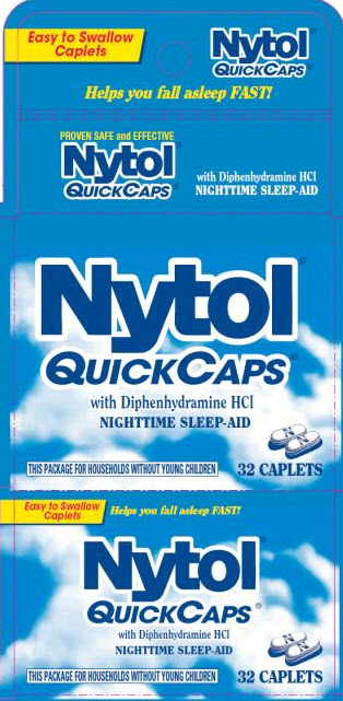 Nytol (Diphenhydramine Hcl) Tablet [Medtech Products Inc.]