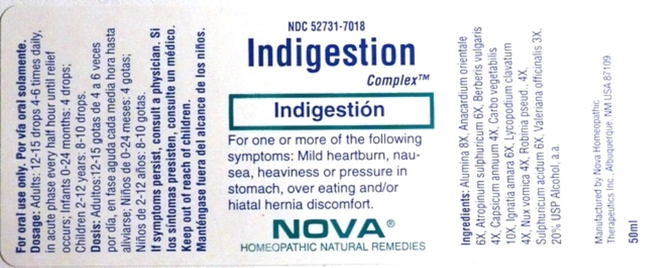 Indigestion Complex Bottle