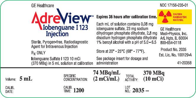 Adreview (Iobenguane I-123) Injection [Medi-physics Inc.]