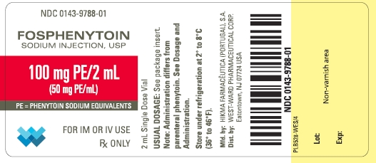 Fosphenytoin Sodium Injection, Solution [West-ward Pharmaceutical Corp]