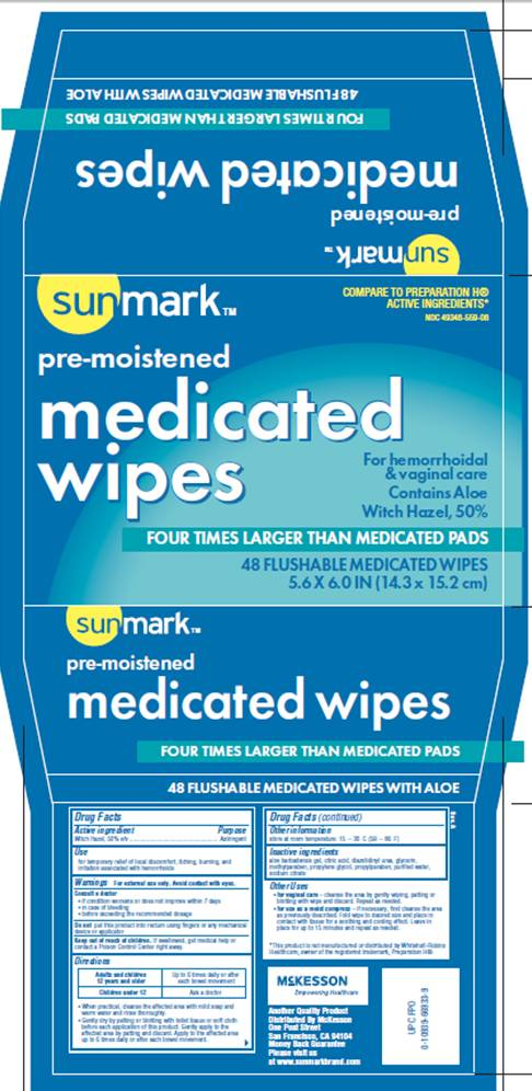 Medicated Wipes (Witch Hazel) Solution [Mckesson]