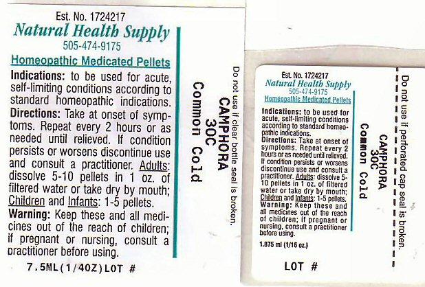 Common Cold (Camphor (Natural)) Pellet [Natural Health Supply]