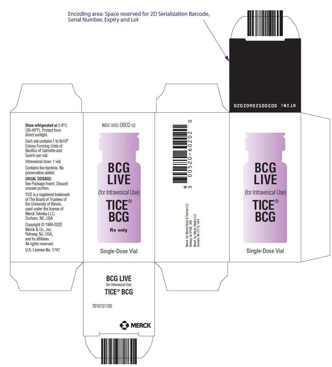 Tice Bcg (Bacillus Calmette-guerin) Powder, For Suspension [Organon Usa Inc.]