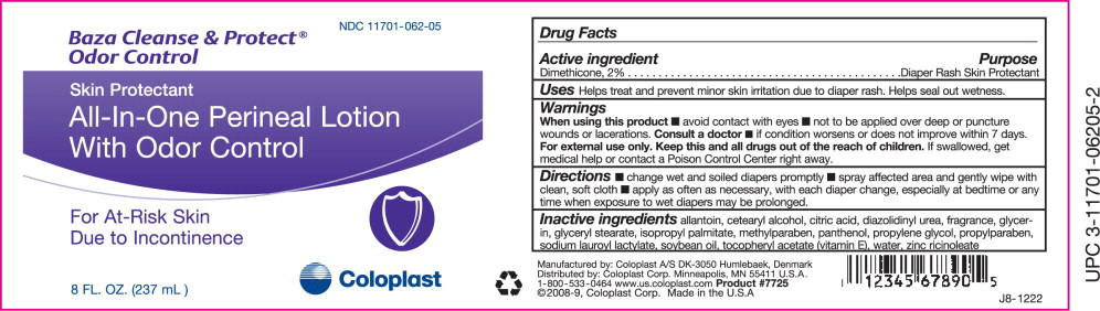 Baza Cleanse And Protect Odor Control (Dimethicone) Lotion [Coloplast Manufacturing Us, Llc]