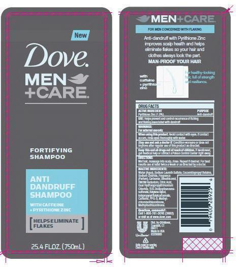 Dove Men Plus Care Anti Dandruff (Pyrithione Zinc) Shampoo [Conopco Inc. D/b/a Unilever]