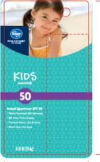 Kids Sunstick SPF 50 -  Front of Card