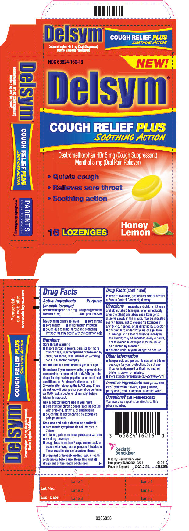 Principal Display Panel - 16 Lozenge Carton