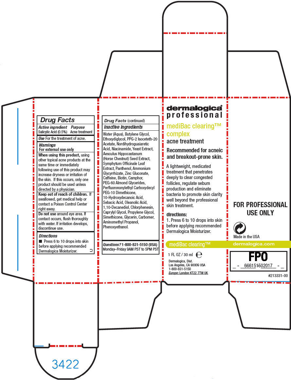 Medibac Clearing Complex (Salicylic Acid) Liquid [Dermalogica, Inc.]