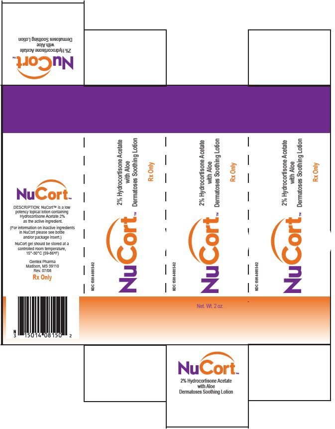 Nucort (Hydrocortisone Acetate) Lotion [Gentex Pharma]