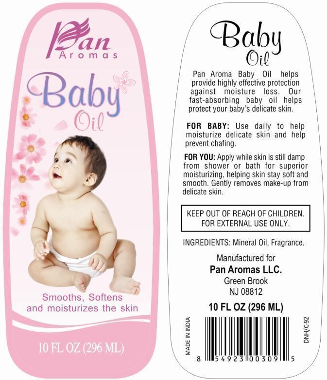 Pan Aromas Baby (Mineral Oil) Oil [Pan Aromas Llc]