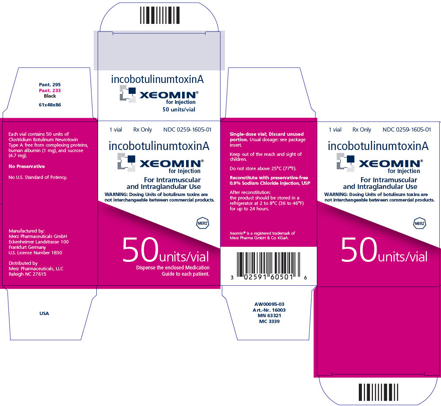 PRINCIPAL DISPLAY PANEL - 50 Units/Vial Label - Physician Sample